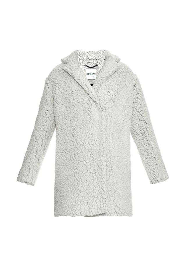 Coat, $810, Kenzo, matchesfashion.com