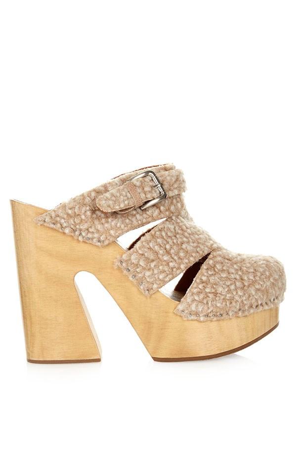 Clogs, $780, Rachel Comey, matchesfashion.com