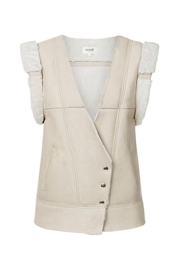 Vest, $300, Seed Heritage, seedheritage.com