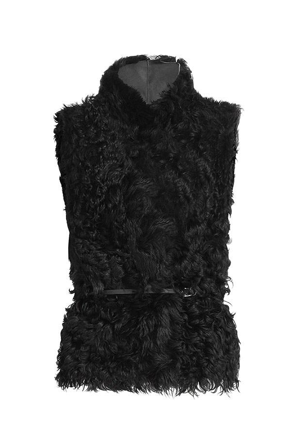 Vest, $2,170, Vanessa Bruno, stylebop.com