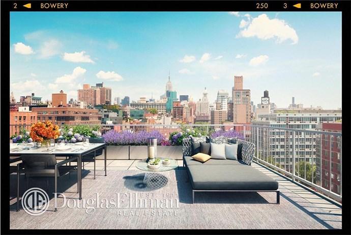 Bonus: rooftop garden for summer hangs.