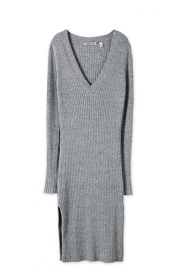 "Dress, $129, Country Road, <a href=""http://www.countryroad.com.au/shop/woman/clothing/knitwear/60177502/V-Neck-Rib-Dress.html "">countryroad.com.au</a>"