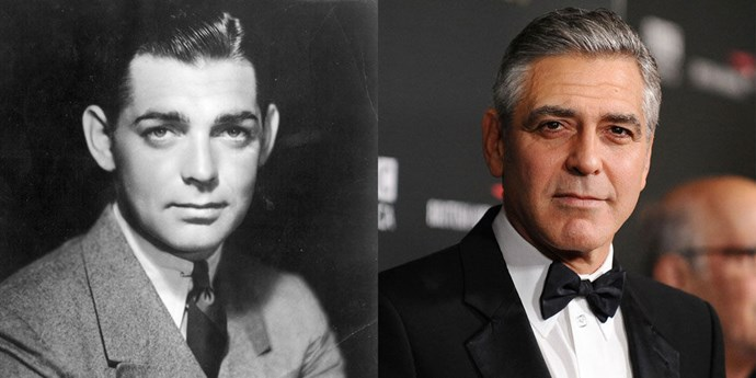 Clark Gable (1932) and George Clooney