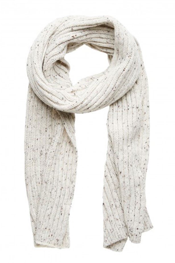 """22.Scarf $29.99, Forever New, <a href=""""http://www.forevernew.com.au/naomi-ribbed-knit-scarf-2023083001007 """">forevernew.com.au</a>"""