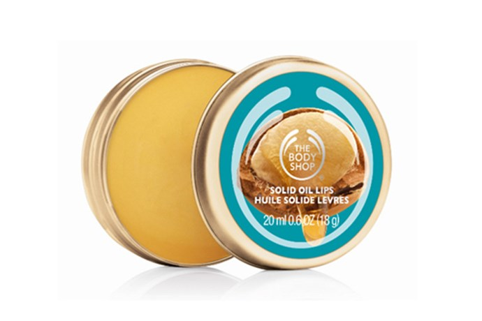"<strong>The rain/hail/shine lip fix </strong> <br><br>Wild Argan Oil – Solid Lip Oil, $9.95, The Body Shop, <a href=""http://www.thebodyshop.com.au/bath-and-body/wild-argan-oil/wild-argan-oil-solid-lip-oil.aspx?gclid=CjwKEAjw8e2sBRCYte6U3suRjFESJAB4gn_goEEZrT6BOUQGIw44O5ZGSwNmQ8a2jhNYCCsNkXNl4RoCY-Pw_wcB&gclsrc=aw.ds#.VZy3qfmqpBc"">thebodyshop.com.au</a>"