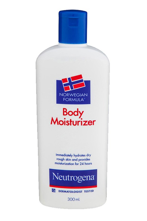 "<strong>The budget-buy old faithful  </strong> <br><br>Norwegian Formula Body Moisturiser, $9.99, Neutrogena, <a href=""https://www.priceline.com.au/skincare/hand-and-body/body-moisturisers/norwegian-formula-body-moisturiser-300-ml"">priceline.com.au</a>"