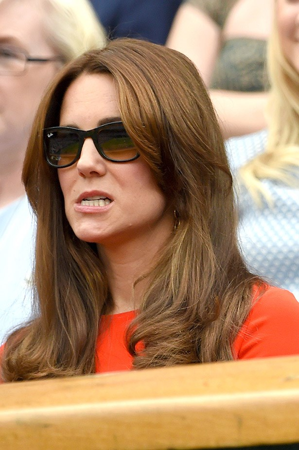 The tension is written all over the Duchess' face.