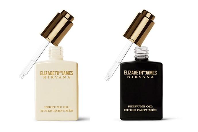Elizabeth and James Nirvana Black and Nirvana White Perfume Oils