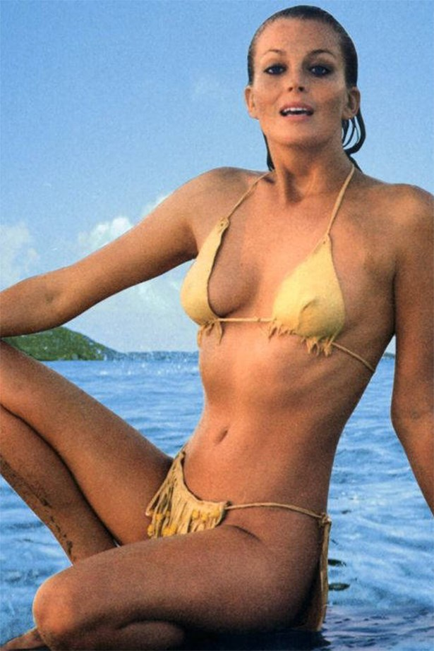 When Bo Derek wore this infamous (and tiny) gold bikini in '10', people around the world descended into jealous rages. Including us. Especially us.