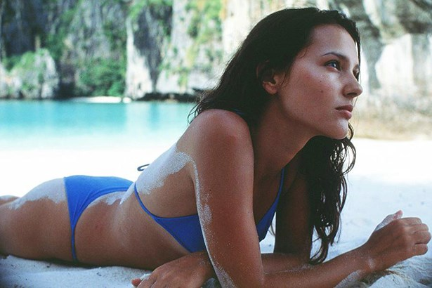 The only thing better than being in this bikini in 'The Beach', would've been making out with a young Leonardo DiCaprio. Virginie Ledoyen gets all the fun.