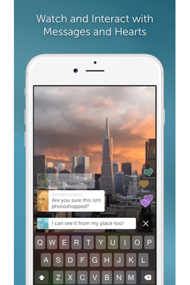 "<p><strong>PERISCOPE</strong></p> <p>""It's no secret that I'm a big fan of sharing the daily goings-on of my life at home and work, and this social media app lets me record video and instant live-stream it.""</p> <p>Price: Free</p>"