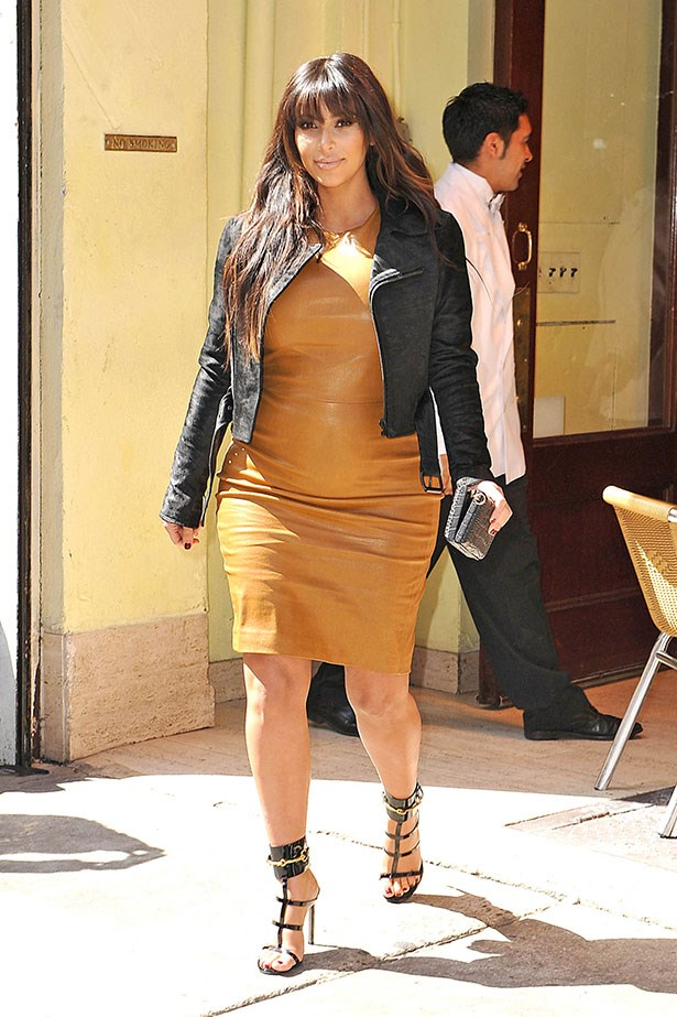 A little bit of mustard leather while out and about in New York in 2013.