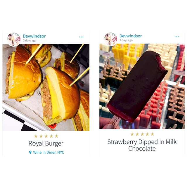 <p>Okay if this is what model Devon Windsor eats then life is just unfair...</p>