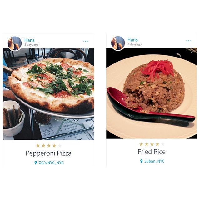 <p>Hannah Bronfman's Instagram is usually awash with green smoothies, we're glad to see she isn't afraid of a little indulgence too.</p>