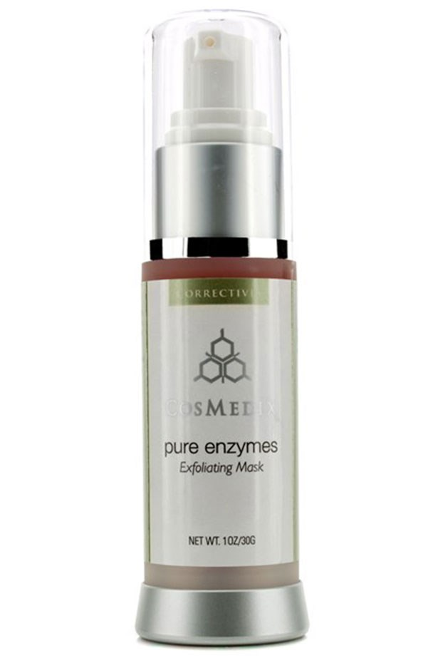 "<em>A seriously great skin-brightener</em> <br> <br> <a href=""http://www.theskincareclinic.com.au/product/cosmedix-pure-enzymes/"">Pure Enzymes Exfoliating Mask, $66, Cosmedix</a>"