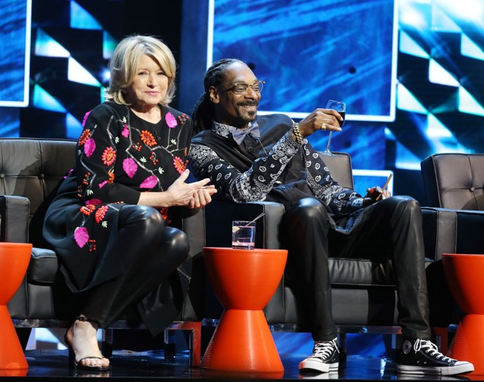 MARTHA STEWART AND SNOOP DOGG. Perfect friends.