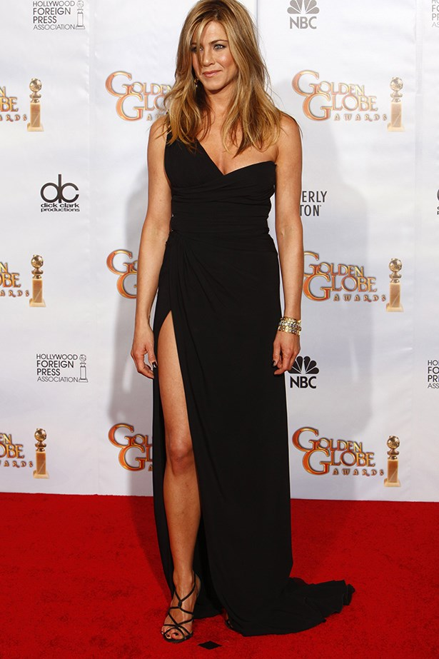 Damn, Rachel! Jennifer Aniston slayed at the Golden Globes.