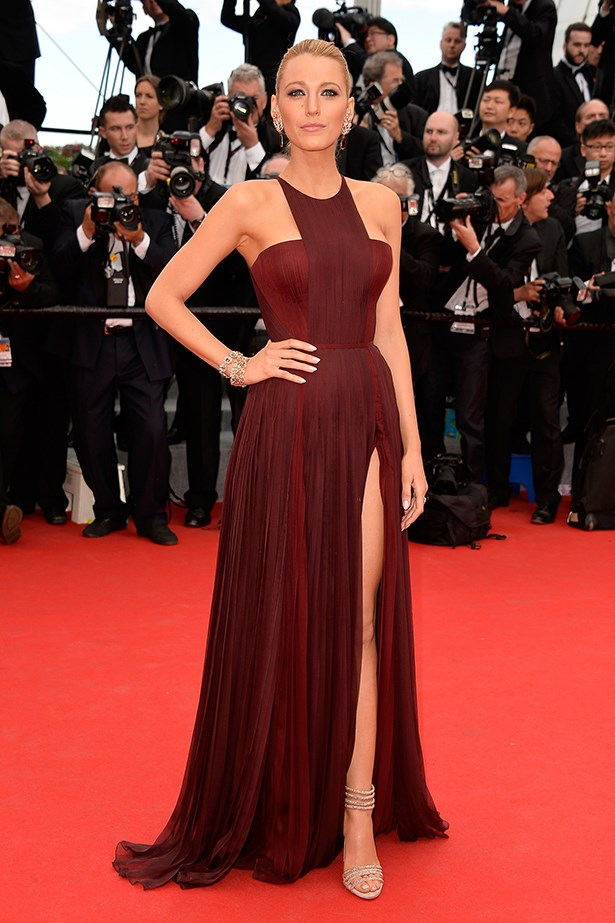 Blake Lively. Cannes. Gucci. Where do we sign up?