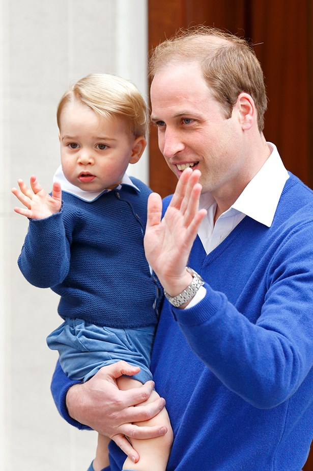 That royal wave.