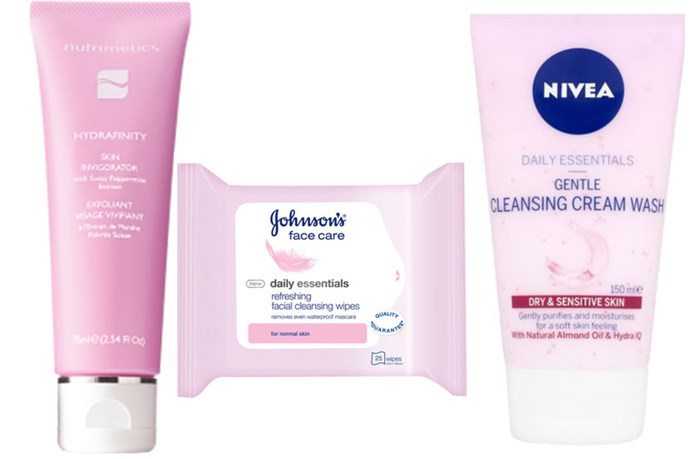 """<a href=""""https://www.nutrimetics.com.au/portal/skincare/first_signs_of_ageing/hydrafinity_skin_invigorator_75ml.aspx""""><strong>Nutrimetics Hydrafinity Skin Invigorator </strong> <br> <br></a> <em> """"I love a really porcelain, super-fair look, so my complexion needs to be as clear and bright as possible. I use this scrub every second day to exfoliate any dead cells that can make my skin look darker under my makeup. The granules are small enough to smooth dullness without scratching my skin.""""</em> <br> <br> <a href=""""http://www.chemistwarehouse.com.au/product.asp?id=63904""""><strong>Johnson's Daily Essentials Refreshing Facial Cleansing Wipes </strong></a> <br> <br> """"<em>To remove the bulk of my makeup, I'll go in first with a face wipe. These ones win over every other type I've tried because of how moisture-dense they are, they're the only ones that don't drag or irritate my skin. Plus, one wipe is enough for my entire face, so a packet lasts a month.</em>"""" <br> <br> <a href=""""https://www.priceline.com.au/skincare/face-care/facial-cleansers-and-scrubs/daily-essentials-gentle-cleansing-cream-wash-150-ml""""><strong>Nivea Daily Essentials Gentle Cleansing Cream Wash </strong></a> <br> <br> """"<em>I use this cream wash as a second cleanse and it's the best for getting rid of any remaining makeup. It's slightly foamy, so it's great in the shower, doesn't dry my skin out and it feels really fresh afterwards. Plus, I'm obsessed with the clean scent."""" </em><br> <br> <strong>Luna's tip <em>""""Taking off many layers of makeup gets messy, so I always hop in the shower. The steam also helps open pores for a deeper, more thorough clean.""""</strong></em>"""