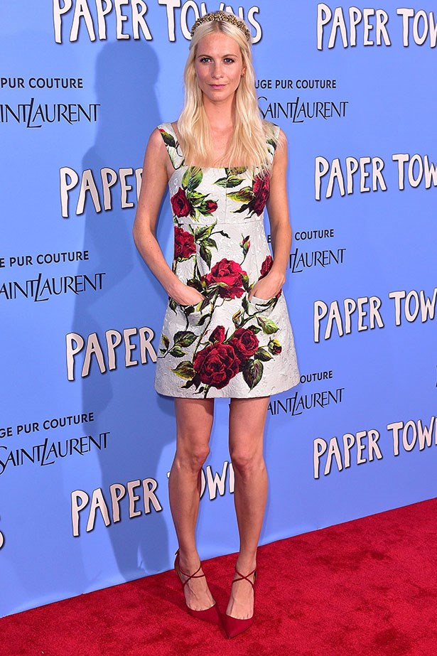 Poppy Delevingne is making the prettiest case for pockets we have ever seen in this floral Dolce and Gabbana dress. So practical! So girly! Somewhere to put your hands when posing on a red carpet! Surely we're not the only ones of the opinion that there there needs to be more pockets in the world.