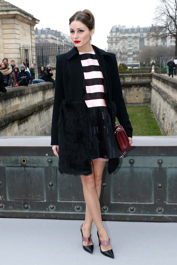 <p>March 01, 2013</p> <p>Olivia Palermo attends the Christian Dior AW13 Ready-to-Wear show as part of Paris Fashion Week.</p>
