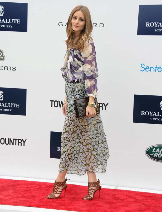 <p>May 15, 2013</p> <p>Olivia Palermo attends the Sentebale Royal Salute Polo Cup during the sixth day of HRH Prince Harry's visit to the United States at Greenwich Polo Club.</p>
