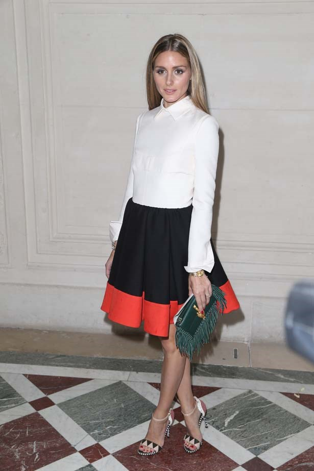 <p>July 09, 2014</p> <p>Olivia Palermo attends at Valentino show as part of Paris Fashion Week Haute Couture AW14-15.</p>