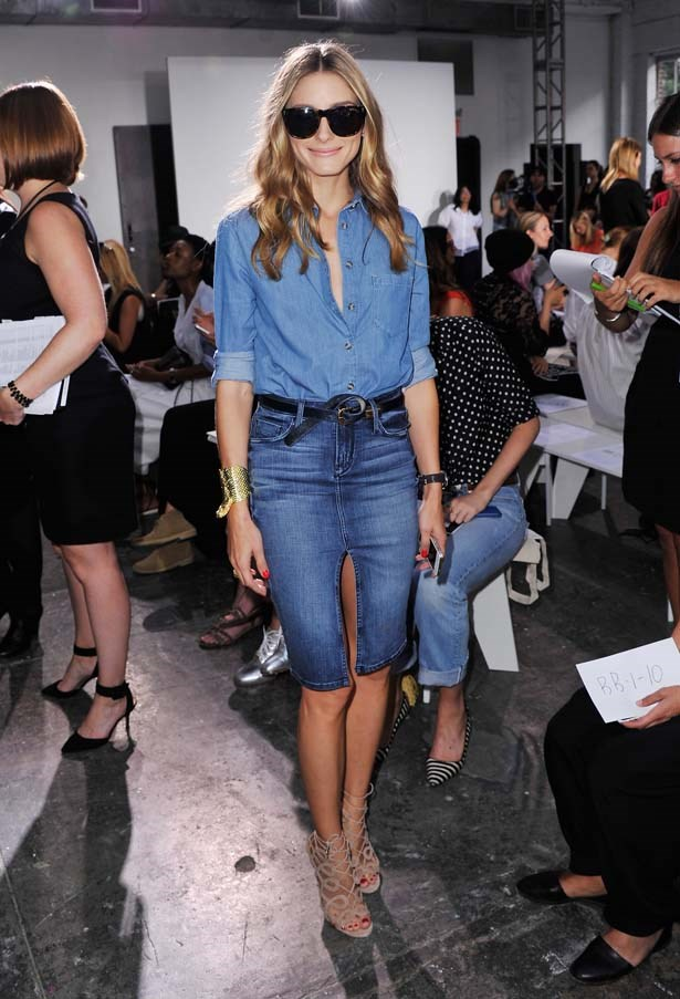 <p>September 05, 2014</p> <p>Olivia Palermo attends the Nonoo fashion show during Mercedes-Benz Fahion Week Spring 2015.</p>