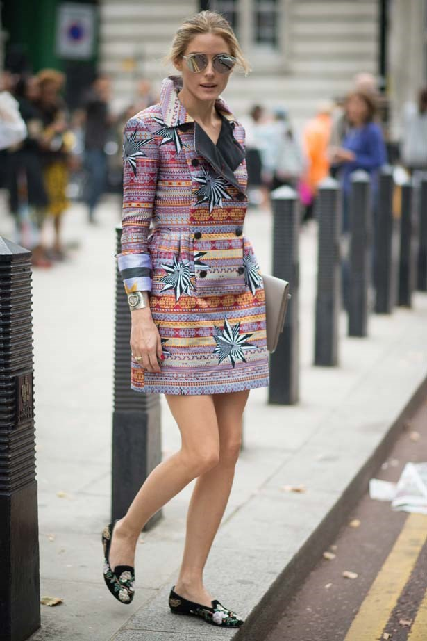 <p>September 14, 2014</p> <p>Olivia Palermo seen in the streets of London during London Fashion Week Spring Summer 2015.</p>