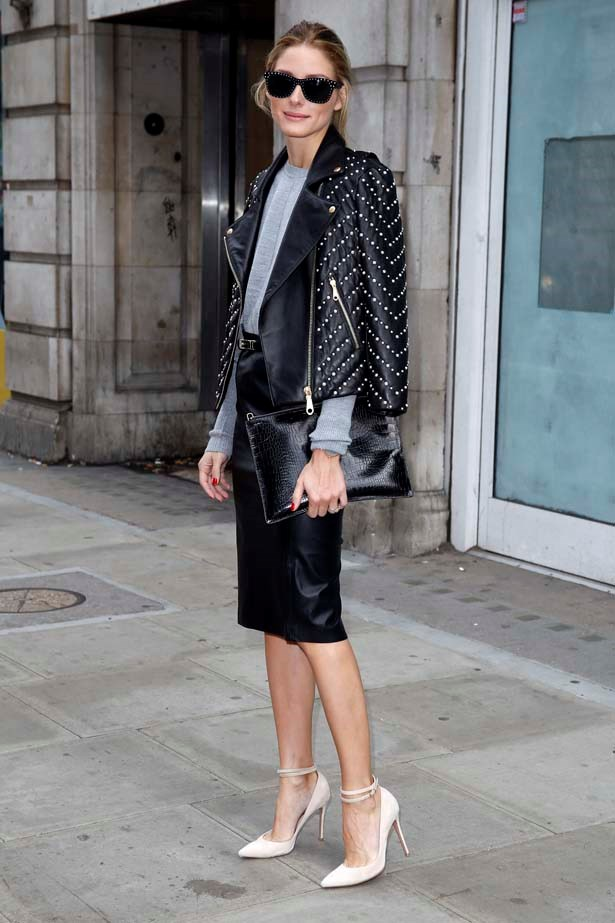 <p>September 16, 2014</p> <p>Olivia Palermo seen leaving Victoria House after attending the OSMAN show in London.</p>