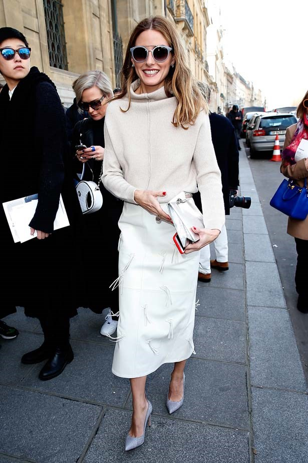 <p>March 06, 2015</p> <p>Olivia Palermo attends the Chalayan show as part of the Paris Fashion Week Womenswear FW15-16.</p>