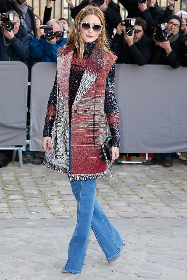 <p>March 06, 2015</p> <p>Olivia Palermo attends the Christian Dior show as part of the Paris Fashion Week Womenswear FW 2015-16.</p>