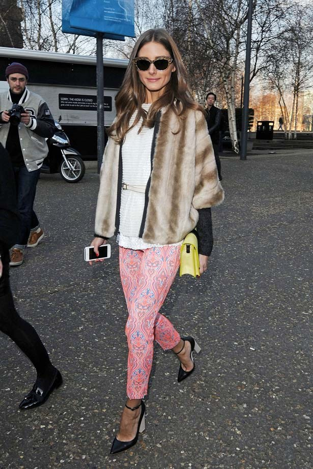<p>February 17, 2013</p> <p>Olivia Palermo is seen walking in London.</p>