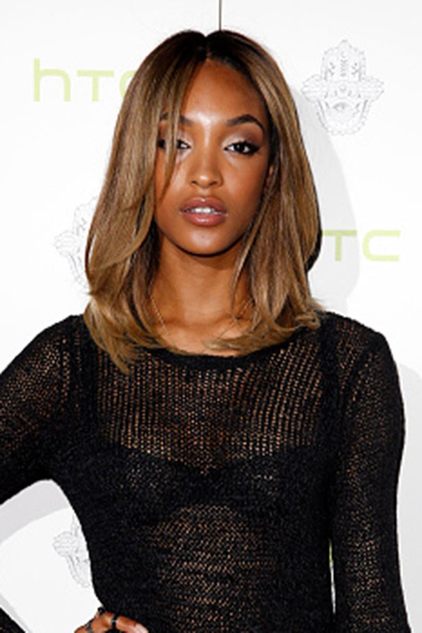 <strong>Jourdan Dunn </strong> <br> <br> <em>Sexy blow-wave and illuminated skin</em>