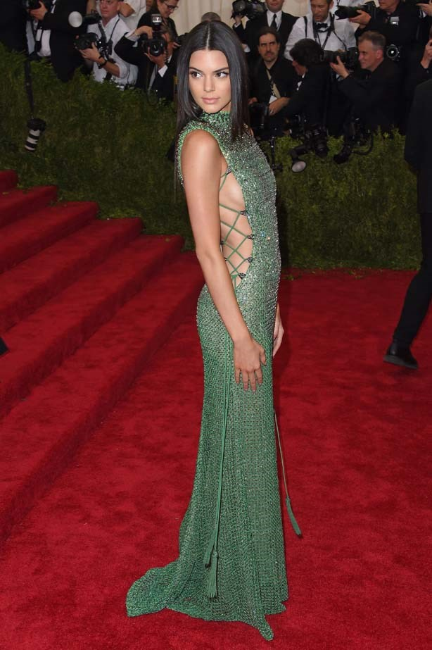 <p>May 04, 2015</p> <p>Kendall Jenner attends the 'China: Through The Looking Glass' Costume Institute Benefit Gala at the Metropolitan Museum of Art.</p>