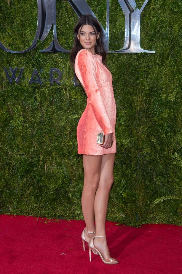 <p>June 07, 2015</p> <p>Kendall Jenner attends American Theatre Wing's 69th Annual Tony Awards at Radio City Music Hall in New York.</p>