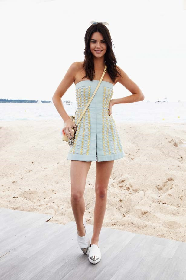 <p>May 21, 2015</p> <p>Kendall Jenner attends The Launch Of The New 'Fendi By Karl Lagerfeld' Book - The 68th Annual Cannes Film festival.</p>