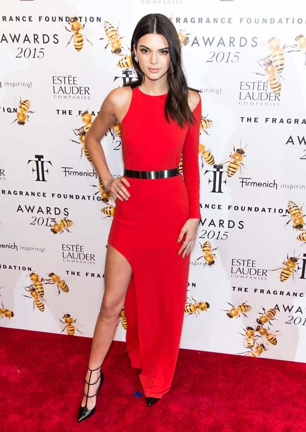 <p>June 17, 2015</p> <p>Kendall Jenner attends 2015 Fragrance Foundation Awards at Alice Tully Hall at Lincoln Center in New York.</p>