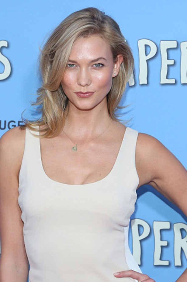 Karlie Kloss <br> <br> California-glow and soft volume