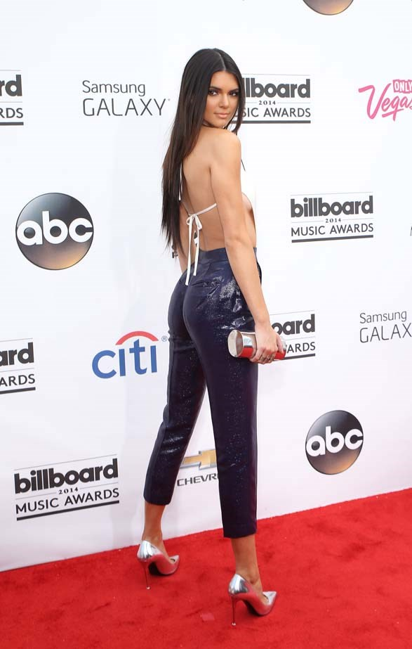 <p>May 18, 2014</p> <p>Kendall Jenner arrives at the 2014 Billboard Music Awards at the MGM Grand Garden Arena in LA.</p>