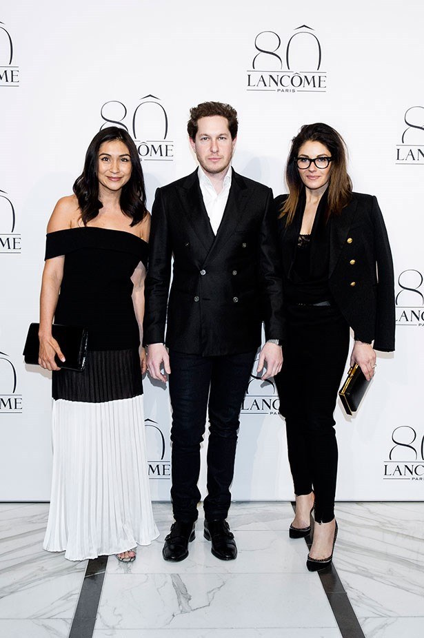 ELLE Editor in Chief Justine Cullen, Marc Freeman and Camilla Freeman-Topper.