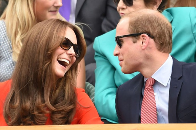 The Duchess of Cambridge and Prince William wore matching outfits