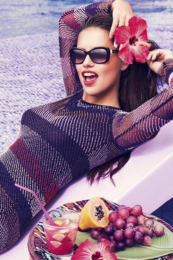 Adriana Lima for Vogue Eyewear
