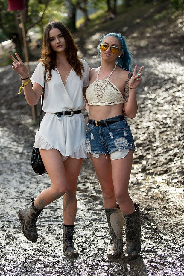 Festivals are for rompers, crochet and gumboots.