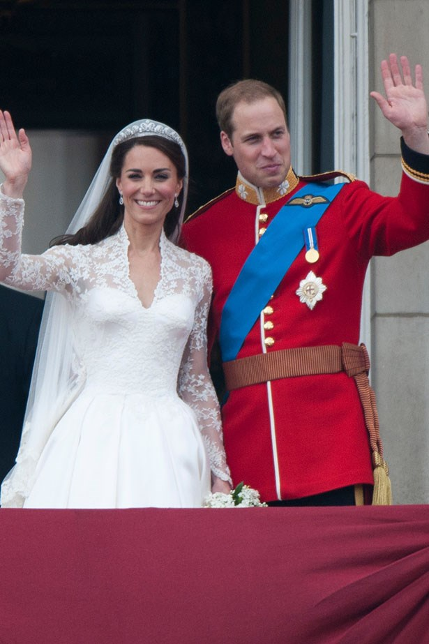 Who wasn't watching this understated wedding between Kate Middleton (in Alexander McQueen) to Prince William at Westminster Abbey on April 29 2011. Jokes about understated right!
