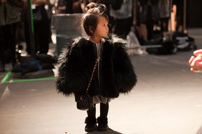 Alexander Wang's niece, Alia, is pretty much the best thing that's happened to this cruel world.