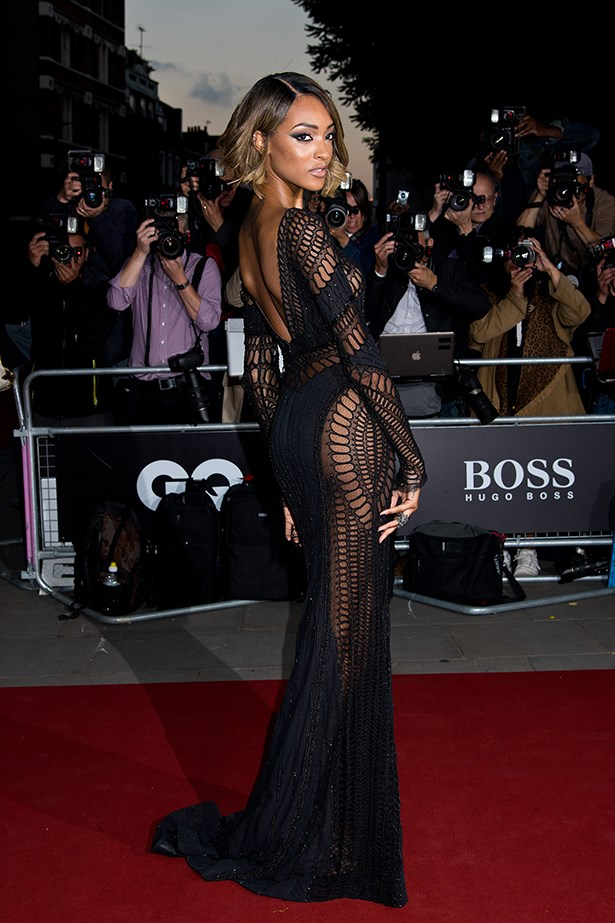 If you got it, flaunt it, we say. And Jourdan Dunn in Zuhair Murad definitely has it. A lot of it.