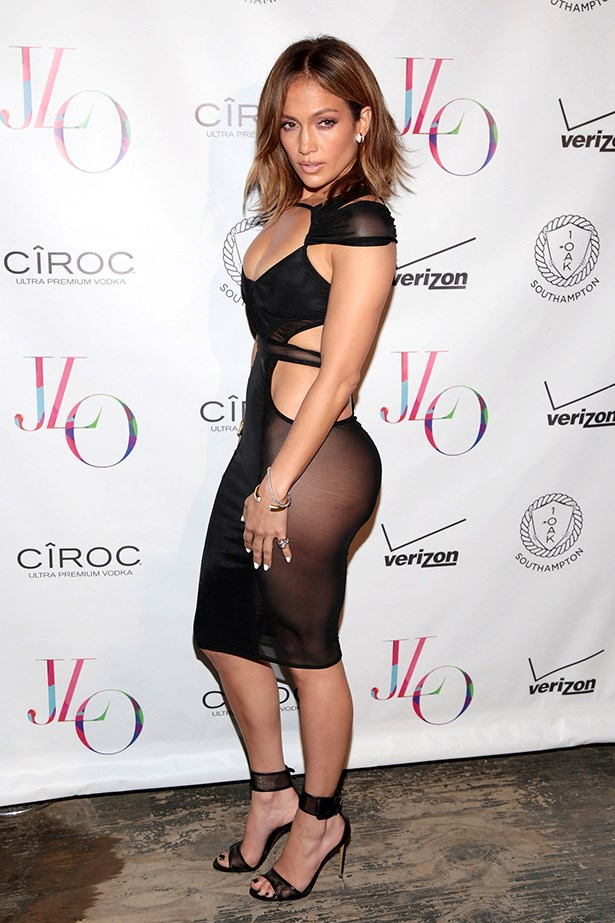 Exhibit C: JLO in Bao Tranchi at her birthday party.