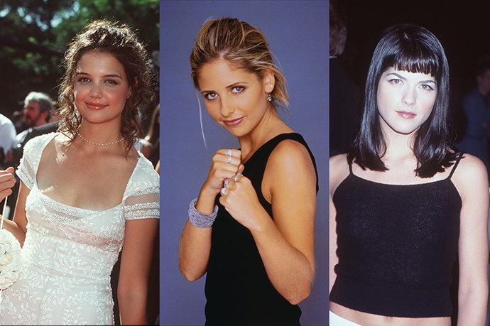 BUFFY THE VAMPIRE SLAYER - Our beloved and squeaky SMG almost missed out on our iconic staking queen. The creators were originally choosing between Katie Holmes and Selma Blair.